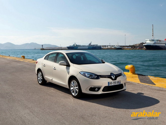 2014 Renault Fluence 1.5 DCi Icon 110 HP