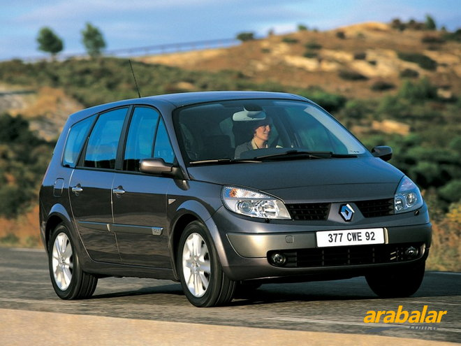 2005 Renault Grand Scenic 1.9 DCi Privilege 130 HP