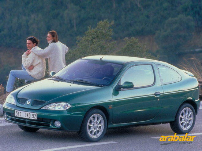 2000 Renault Megane Coupe 1.6 Sport