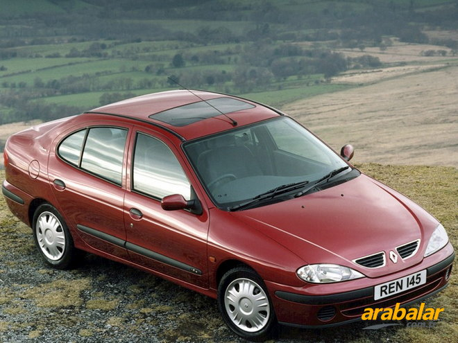 2001 Renault Megane 1.4 16V Authentique