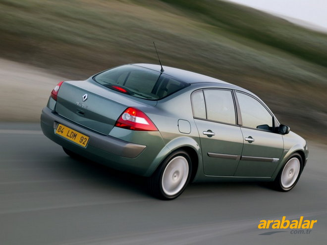 2007 Renault Megane 1.5 DCi Authentique Baz