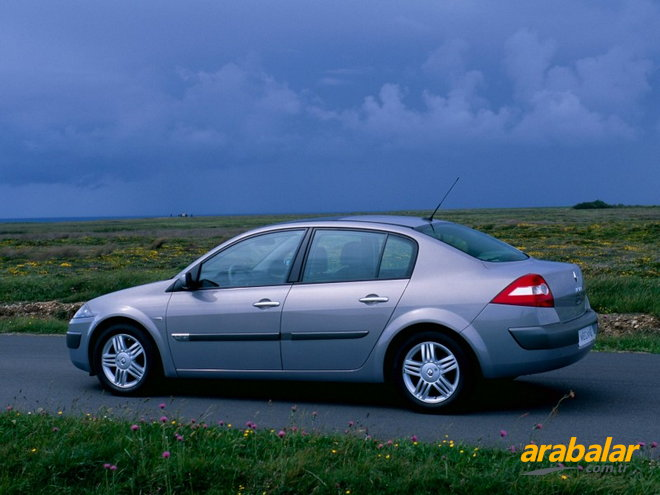 2001 Renault Megane Sedan 1.6 Privilege