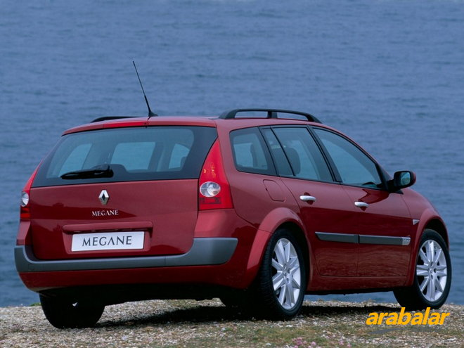 2003 Renault Megane Grand Tour 1.5 DCi Authentique 80 HP