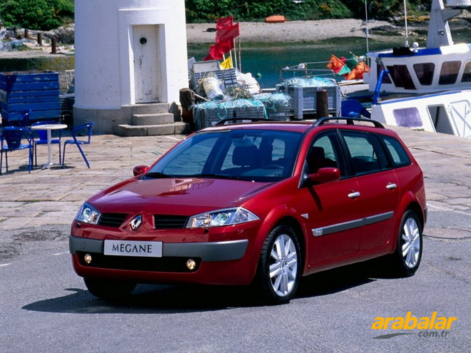 2003 renault megane kombi 1 4 16v alize. Black Bedroom Furniture Sets. Home Design Ideas