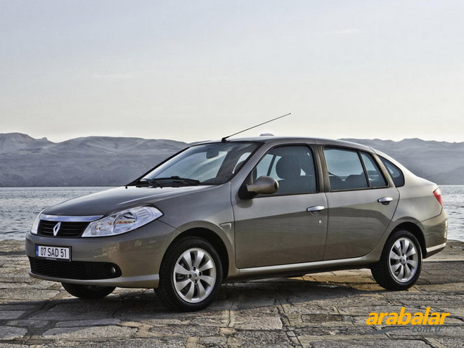 2012 Renault Symbol 1.5 DCi SL Collection 85 HP