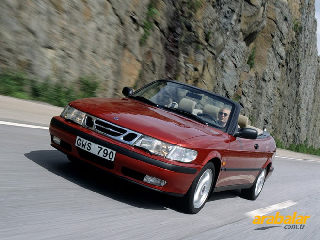 2002 Saab 9-3 2.0 Turbo Cabrio SE 185 HP
