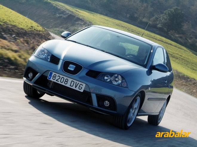 2007 seat ibiza 1 4 elegance. Black Bedroom Furniture Sets. Home Design Ideas