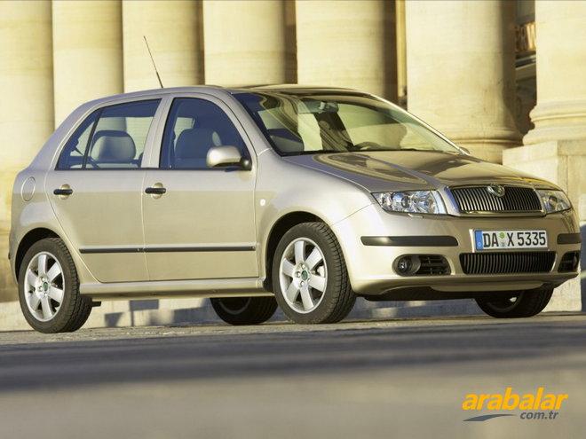 2001 skoda fabia 1.4 classic 60 hp - arabalar.tr