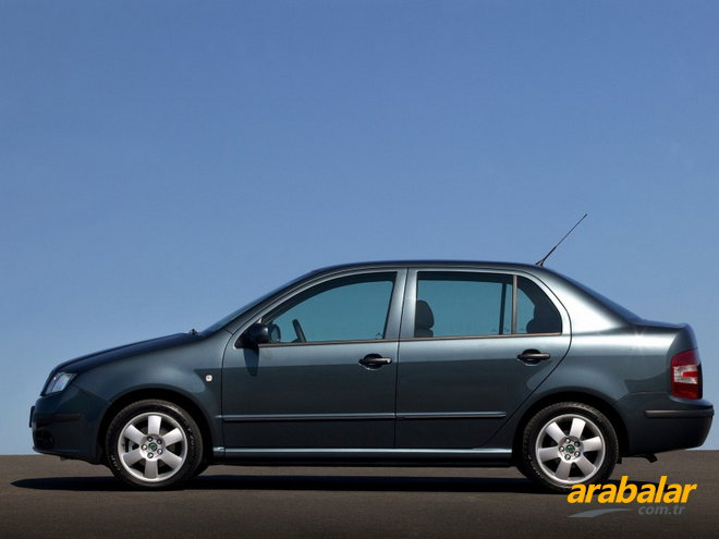 2008 Skoda Fabia Sedan 1.4 PD TDI Classic 70 HP