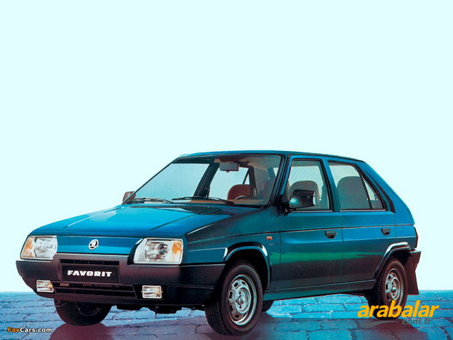 1992 Skoda Favorit 135 LX