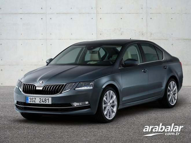 2017 Skoda Octavia Yeni 1.6 TDI Optimal