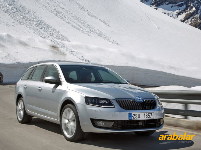 2014 Skoda Octavia Combi 1.6 CR TDI Optimal DSG