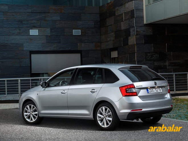 2014 Skoda Rapid Spaceback 1.6 CR TDI Elegance