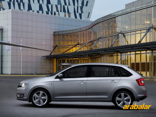 2015 Skoda Rapid Spaceback 1.2 TSI Ambition 90 HP