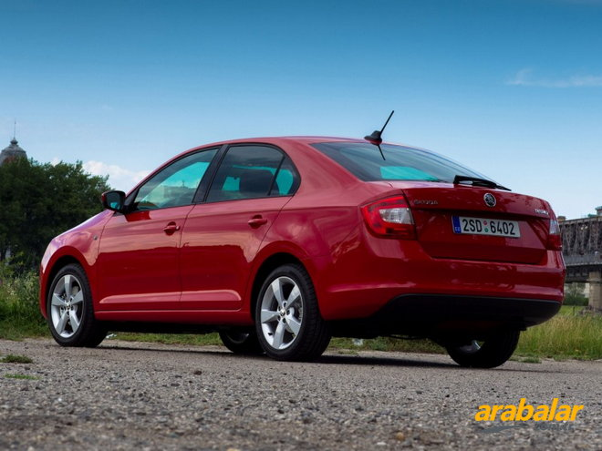 2015 Skoda Rapid 1.4 TDI Ambition DSG 90 HP
