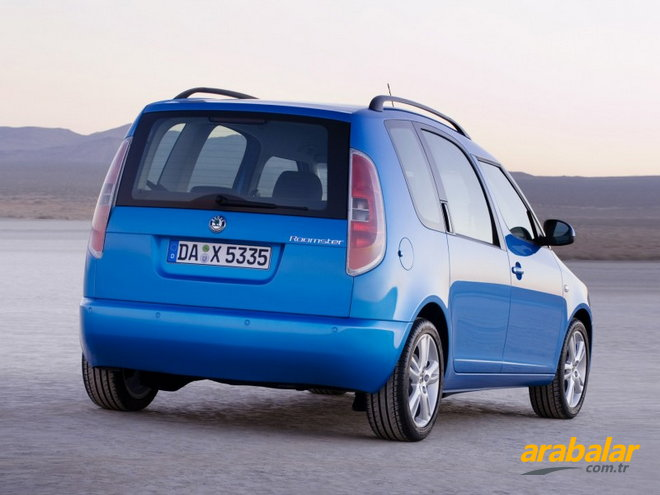 2008 Skoda Roomster 1.9 PD TDI Scout