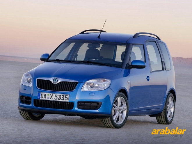2010 Skoda Roomster 1.4 PD TDI 80 HP