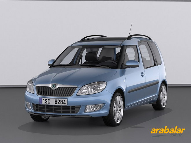 2012 Skoda Roomster 1.6 CR TDI Active 90 HP