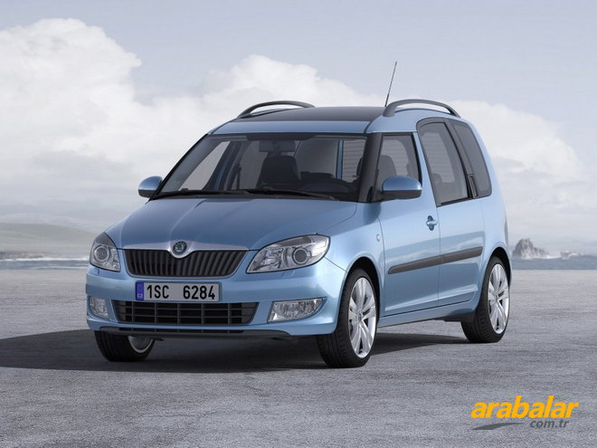 2013 Skoda Roomster 1.6 CR TDI Scout 105 HP