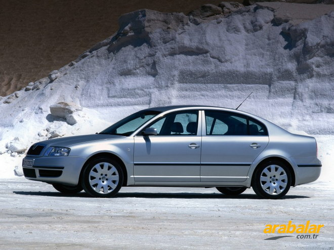 2002 Skoda Superb 2.0 Elegance