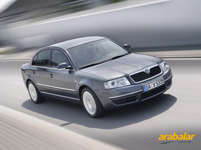 2008 Skoda Superb 1.9 PD TDI Elegance 131 HP