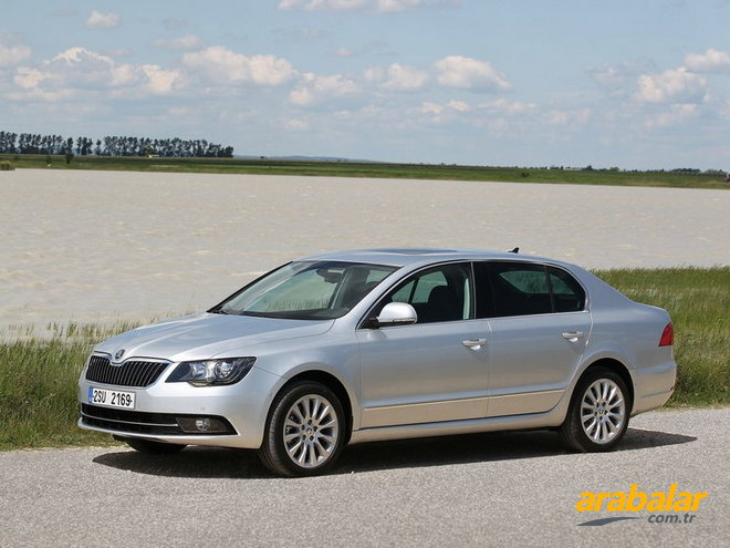 2013 Skoda Superb 2.0 CR TDI Elegance Greentech DSG 140 HP
