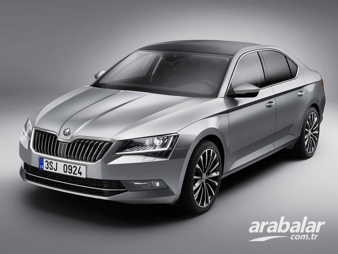 2016 Skoda Superb 1.6 TDI Active DSG