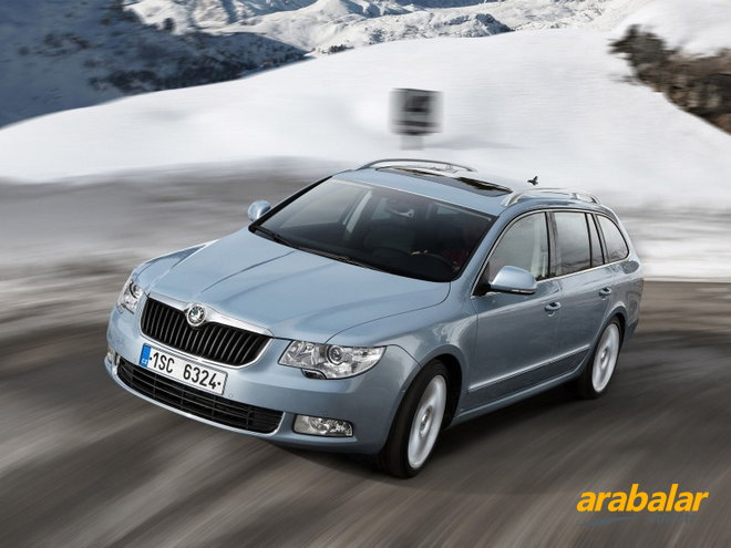 2013 Skoda Superb Combi 1.6 CR TDI Elegance Greentech