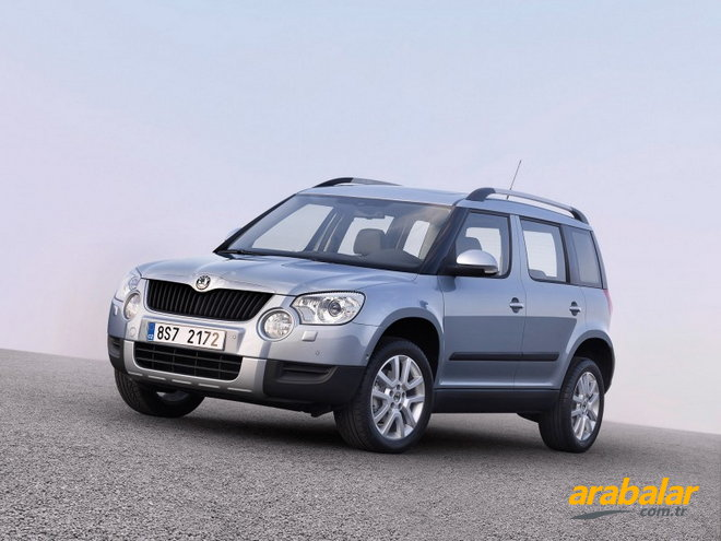 2011 Skoda Yeti 2.0 CR TDI Ambition 4X4 170 HP