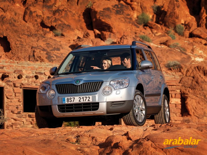 2010 Skoda Yeti 2.0 CR TDI Ambition 4X4 170 HP