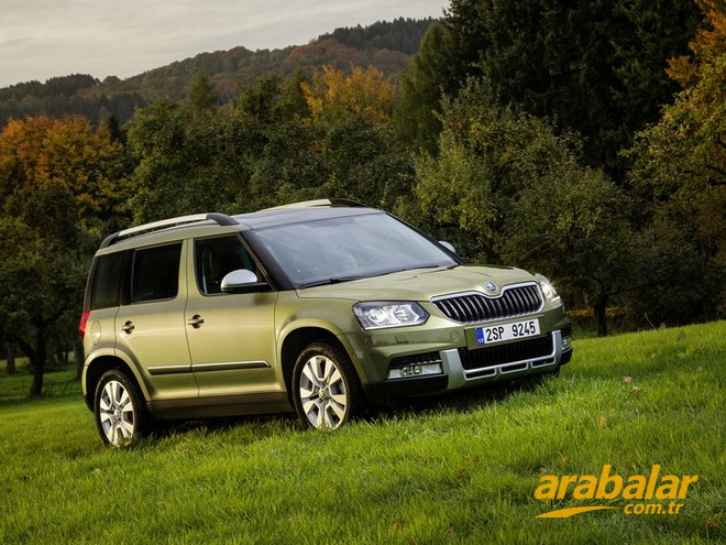 2014 Skoda Yeti 1.6 CR TDI Active Greenline