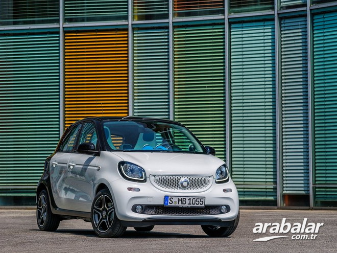 2016 Smart Forfour 1.0 Twinmatic