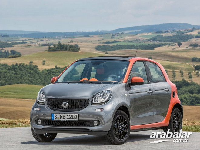2017 Smart Forfour 1.0 Twinmatic