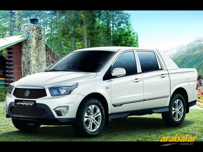 2016 SsangYong Korando Sports 2.0 D Limited