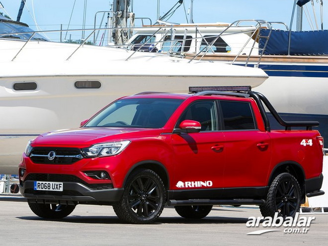 2019 SsangYong Musso Grand 2.2 Platinum AT 4x4