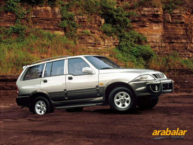 1998 SsangYong Musso 2.9