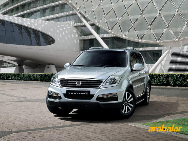 2015 SsangYong Rexton 2.0 Platinum 4X4 AT
