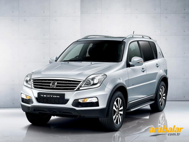 2016 SsangYong Rexton 2.0 D Platinum AT 4x4