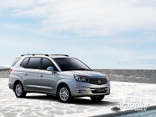 2016 SsangYong Rodius 2.0 D Platinum AT 4x4
