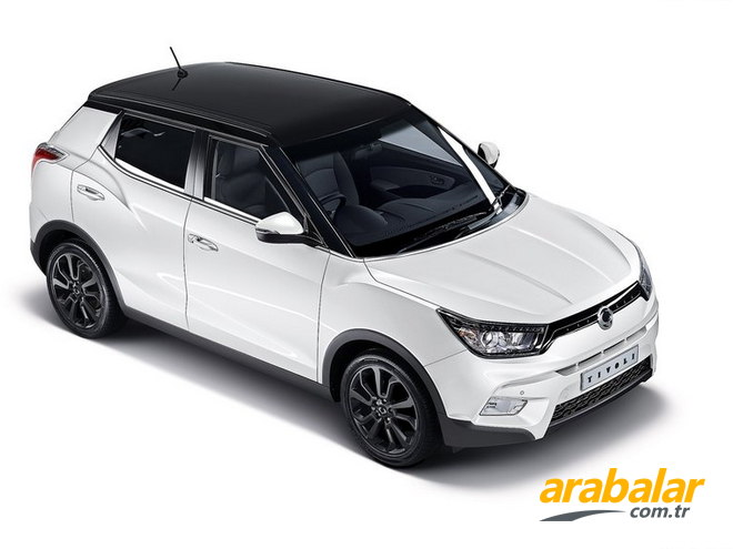 2015 SsangYong Tivoli 1.6 Limited AT