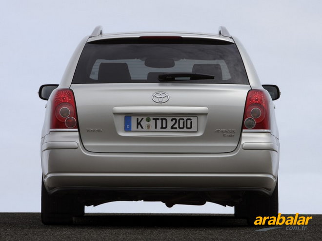 2007 Toyota Avensis Verso 2.0 D