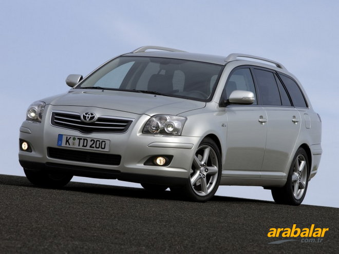 2007 toyota avensis verso 2 0. Black Bedroom Furniture Sets. Home Design Ideas