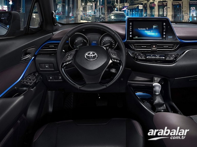 2016 toyota c-hr 1.2 advance multidrive s - arabalar.tr