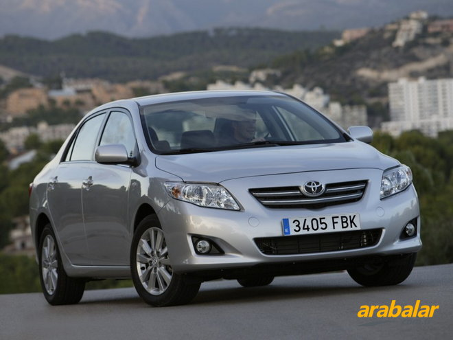 2010 toyota corolla 1.6 comfort - arabalar.tr