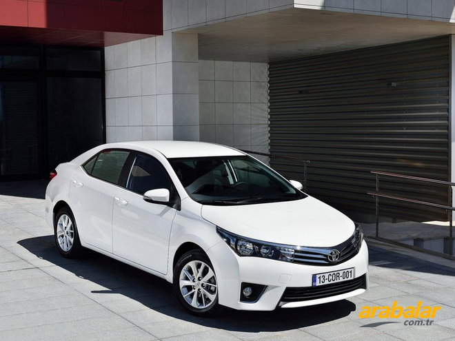 2013 Toyota Corolla 1.6 Advance Multidrive S