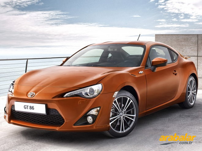 2015 Toyota GT 86 2.0 AT