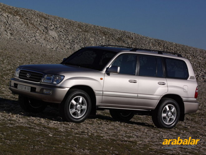 2000 Toyota Land Cruiser 100 4.2