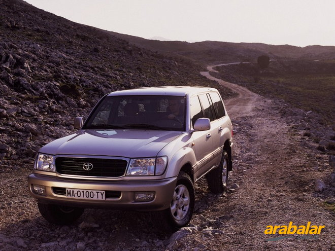 1999 Toyota Land Cruiser 100 4.2