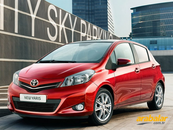 2012 Toyota Yaris 1.33 Cool Multidrive S