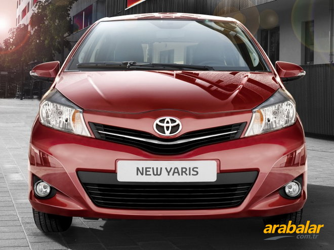 2012 Toyota Yaris 1.4 D-4D Fun